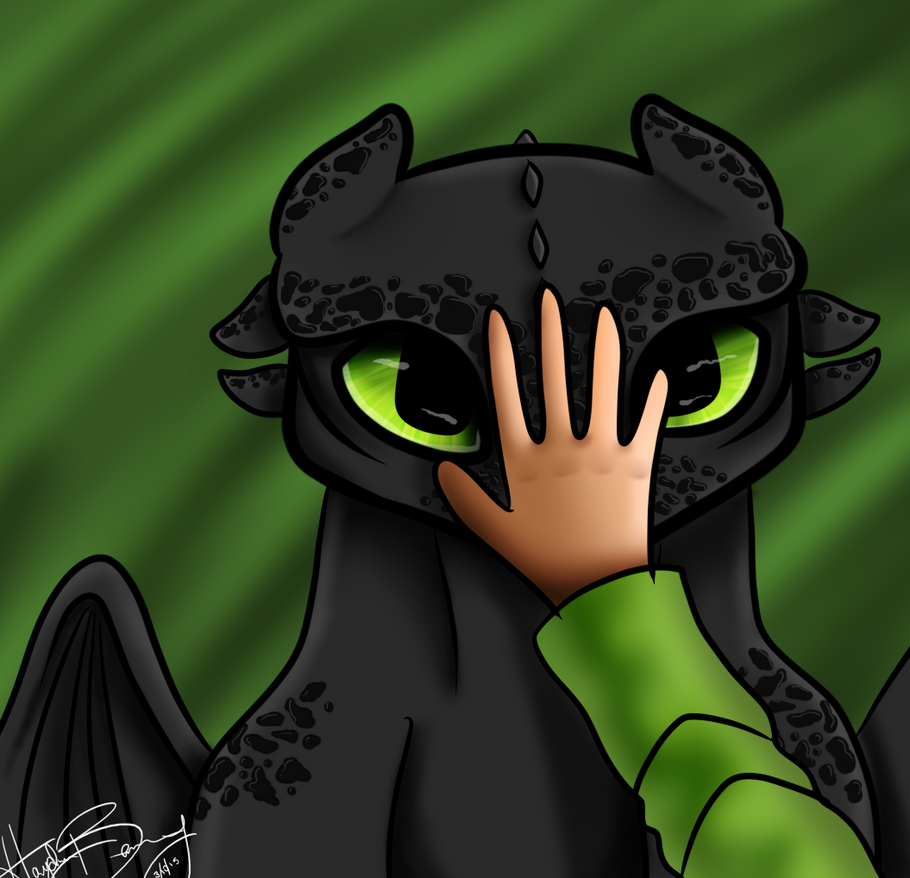 Toothless :D by Almost-Toxic