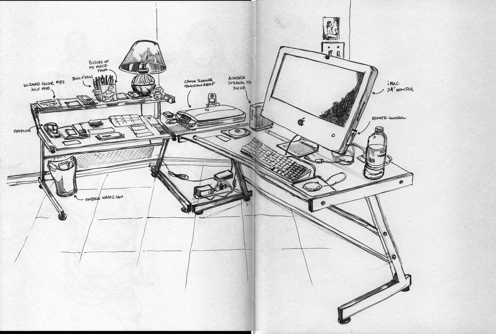 My workstation by G-Spot1