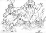 Hellboy at Spitballin'