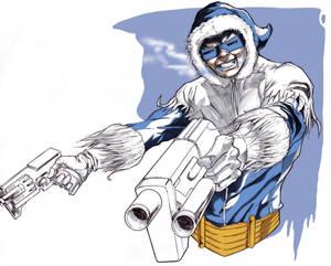Captain Cold at Spitballin'