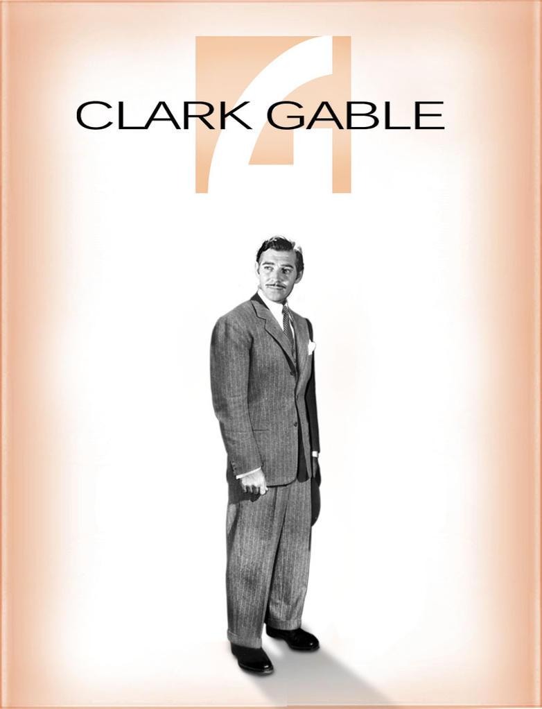 clark gable by ficklestix on deviantart. Black Bedroom Furniture Sets. Home Design Ideas