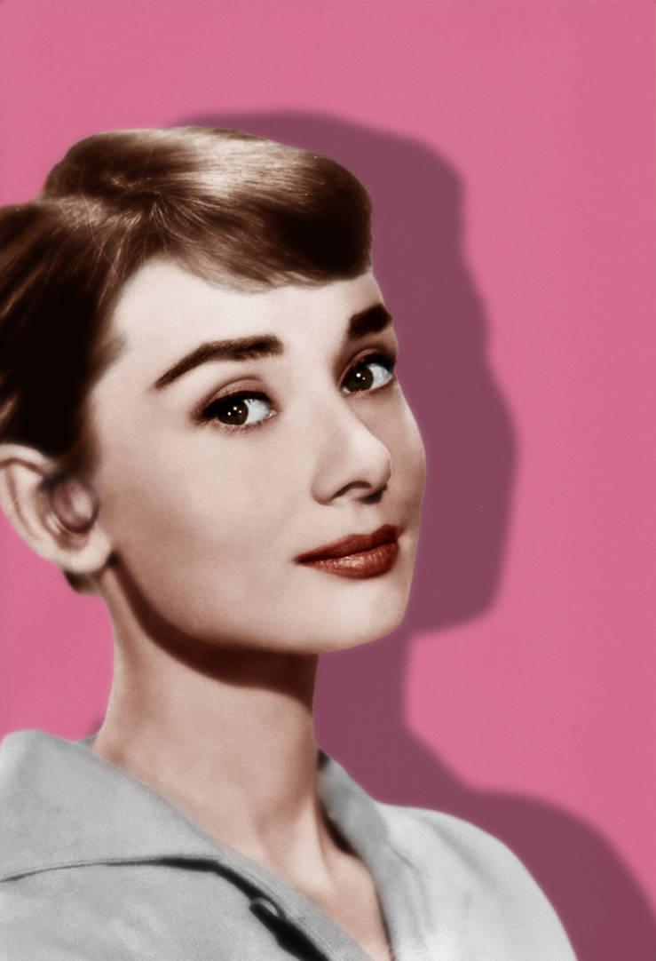 Audrey Hepburn by Ficklestix