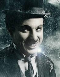 Charlie Chaplin by Ficklestix