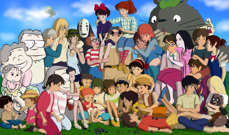 Studio Ghibli Favourites By Ladyoflegends On Deviantart