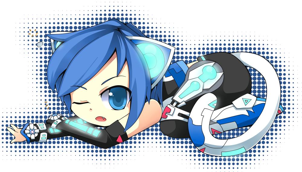 Cyber Neko Kaito by KittiRawr