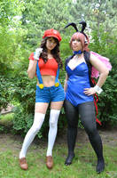 Sora no Otoshimono and Super Mario Girl! by BlueBlackDiamond