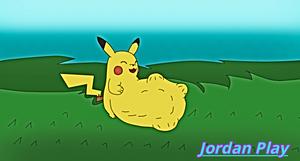 Pikachu Eat Slackjon001