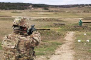 The Pistol Range by foxblood702