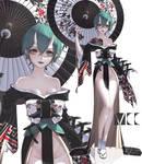 [Closed]Adoptable Oni girl