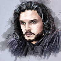 Jon Snow by Turskeluth