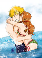 Summer Kiss 2 by elyrosas