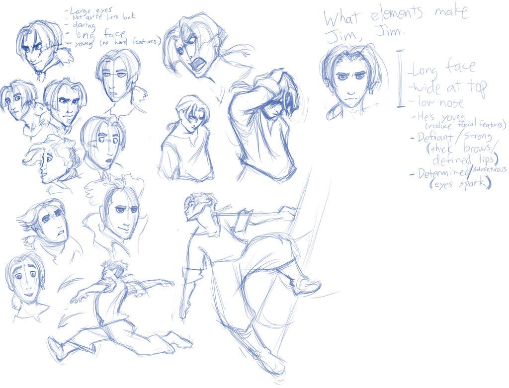 Disney faces 1 by Eyrich on DeviantArt