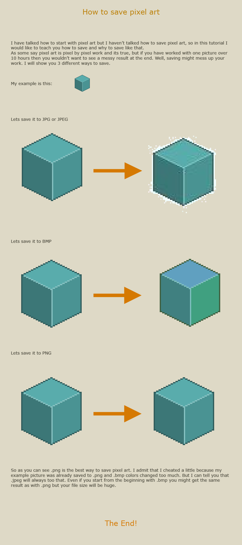 How to save pixel art by vanmall on DeviantArt
