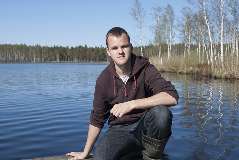 Me At The Lake by `vanmall