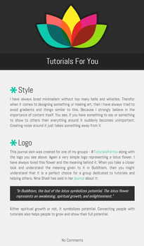 Tutorials For You journal skin
