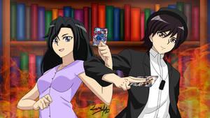 Cardfight Vanguard OC Daisuke and Mei