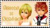 Roxas+Namine Stamp by Jokersita