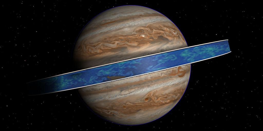 """แนวคิด """"Supra-Jupiter"""" คือการสร้างวงแหวนอยู่อาศัยรอบดาวพฤหัสบดี"""