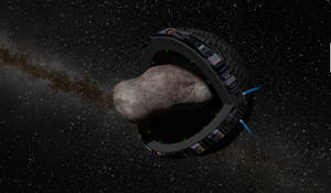 The PacMan asteroid miner