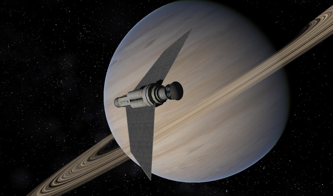 The GAIA arkship approaches Aegir