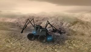 A robot survey ship on Unn