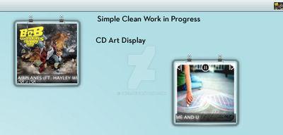 Simple Clean CAD WIP