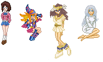 Custom Sprites from Yugioh by MagicalMist