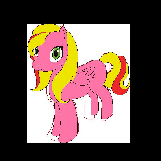 Pony, khm....... me by Zoe-Spovafan