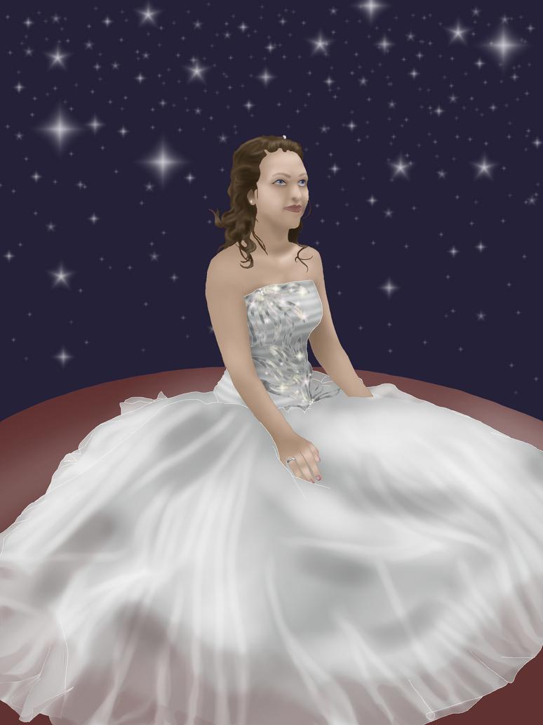 Under the stars by Zoe-Spovafan