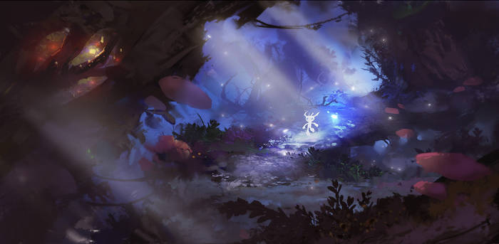 Ori and the Blind Forest   fanart