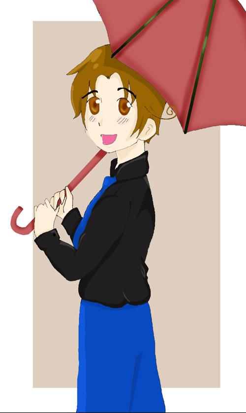 Under My Umbrella by PaintedBlack13