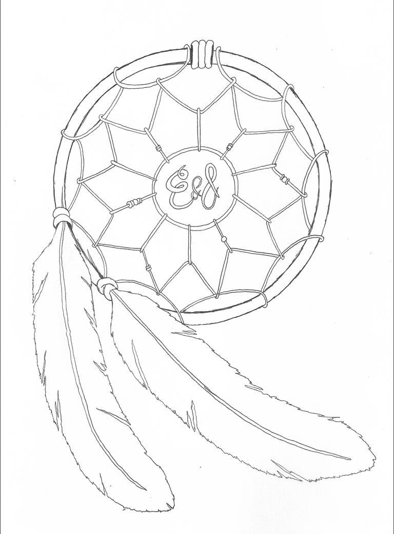 Dreamcatcher by jrhyme on deviantart for Dreamcatcher tattoo template