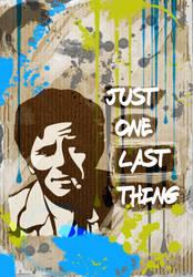 Columbo  stencil by nov1design