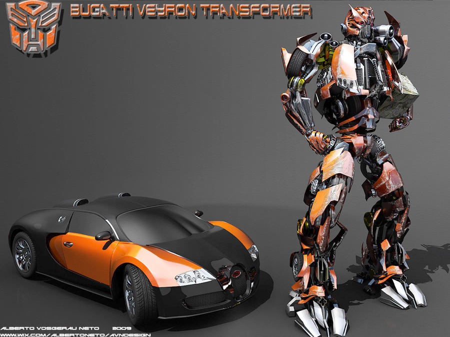Bugatti Veyron Transformer By Betoavn On Deviantart
