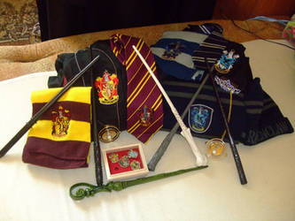 Harry Potter stuff by Matsu-Sotome