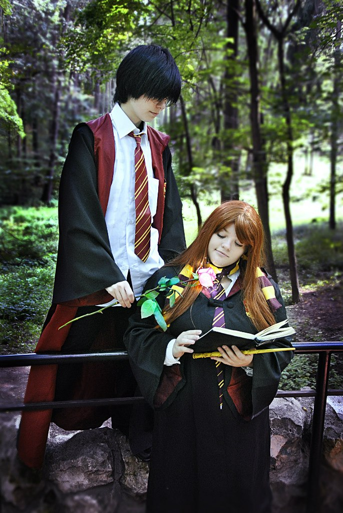 Lily Evans x James Potter by Matsu-Sotome on DeviantArt X 23 Cosplay Wallpaper