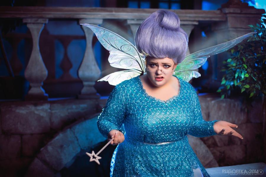 Fairy godmother shrek 2 by Matsu-Sotome