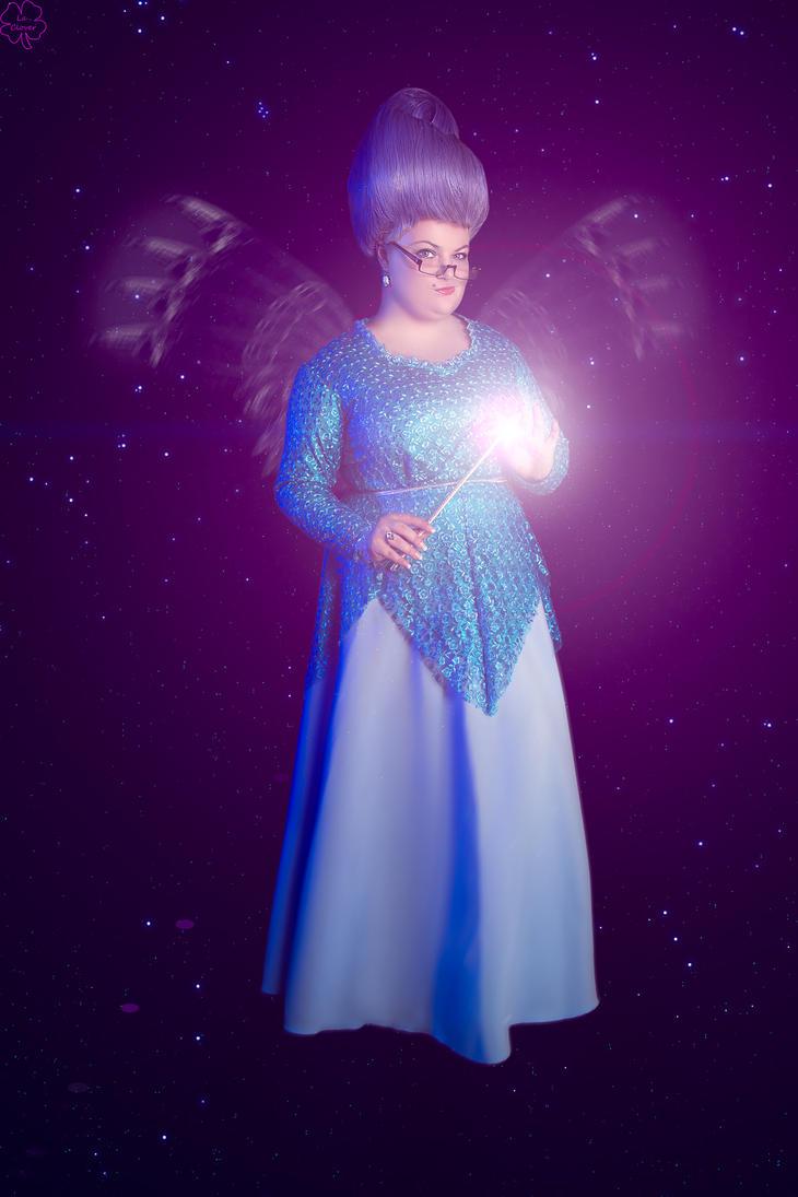 Fairy godmother Shrek 2 magic by Matsu-Sotome