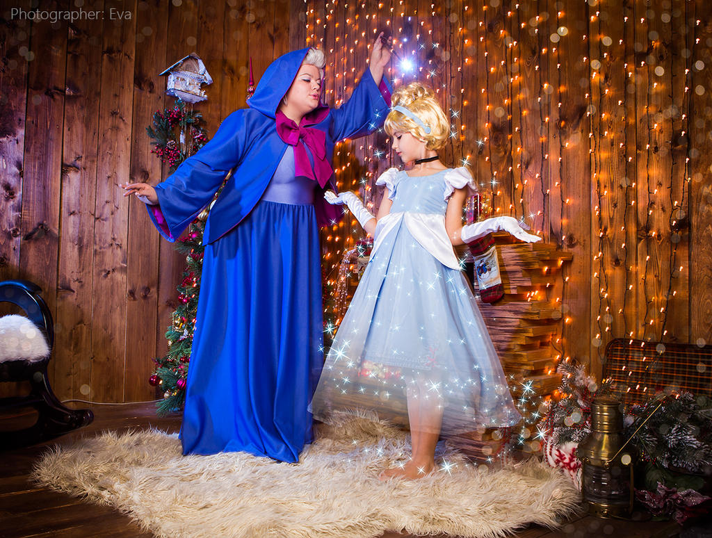 cinderella fairy godmother magic by matsusotome on