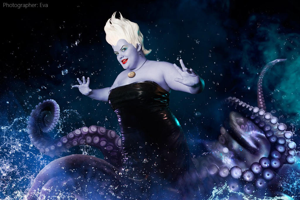Ursula the sea witch 2015 by Matsu-Sotome