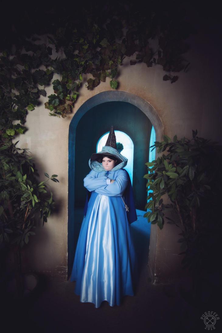 Disney - Sleeping beauty - Fairy Mary Weather by Matsu-Sotome