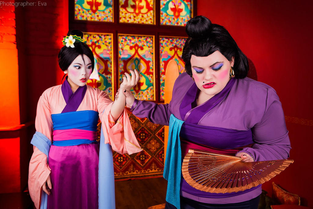 Disney Mulan Matchmaker And Mulan By Matsu Sotome On Deviantart