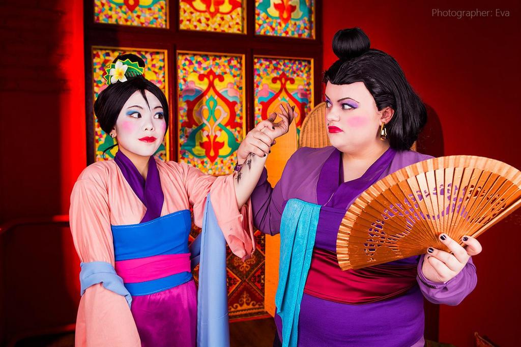 Disney cartoon Mulan by Matsu-Sotome
