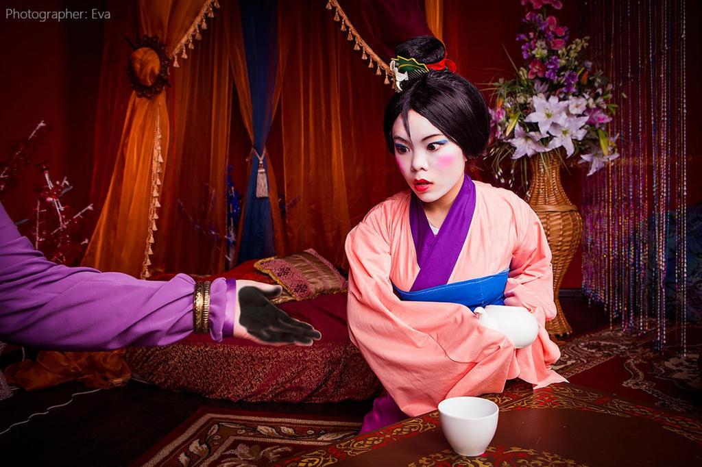 Disney - Mulan - Matchmaker and Mulan 1 by Matsu-Sotome