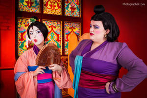 Mulan and Matchmaker by Matsu-Sotome