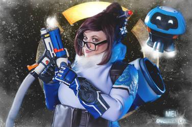 Overwatch - Blizzard - Mei Ling Zhou