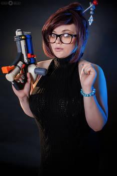 Overwatch - Mei Ling Zhou black virgin killer 1