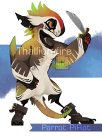 Parrot Pirat by NebNomMothership