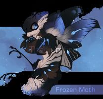 Frozen Moth by NebNomMothership