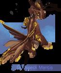 Goldspeck Mantis by NebNomMothership